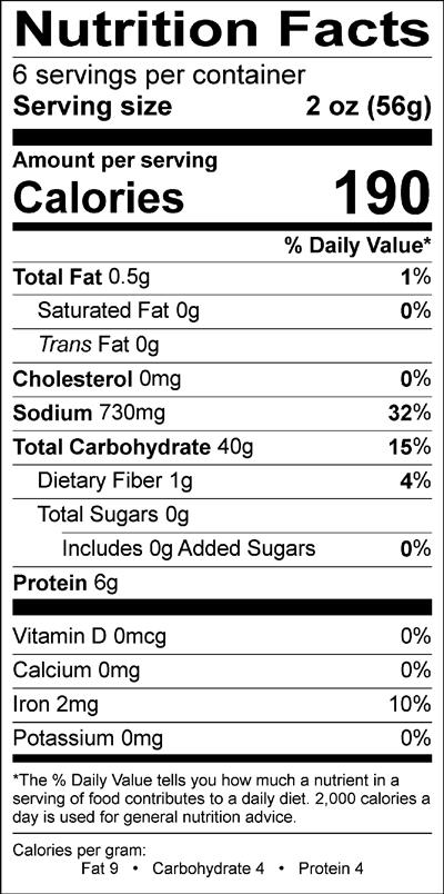 yokogiri-udon-nutrition