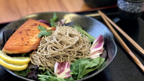 Soba Noodles Asian Fusion