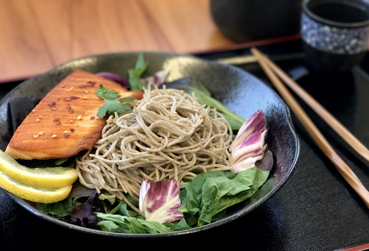 Soba Noodles Asian Fusion