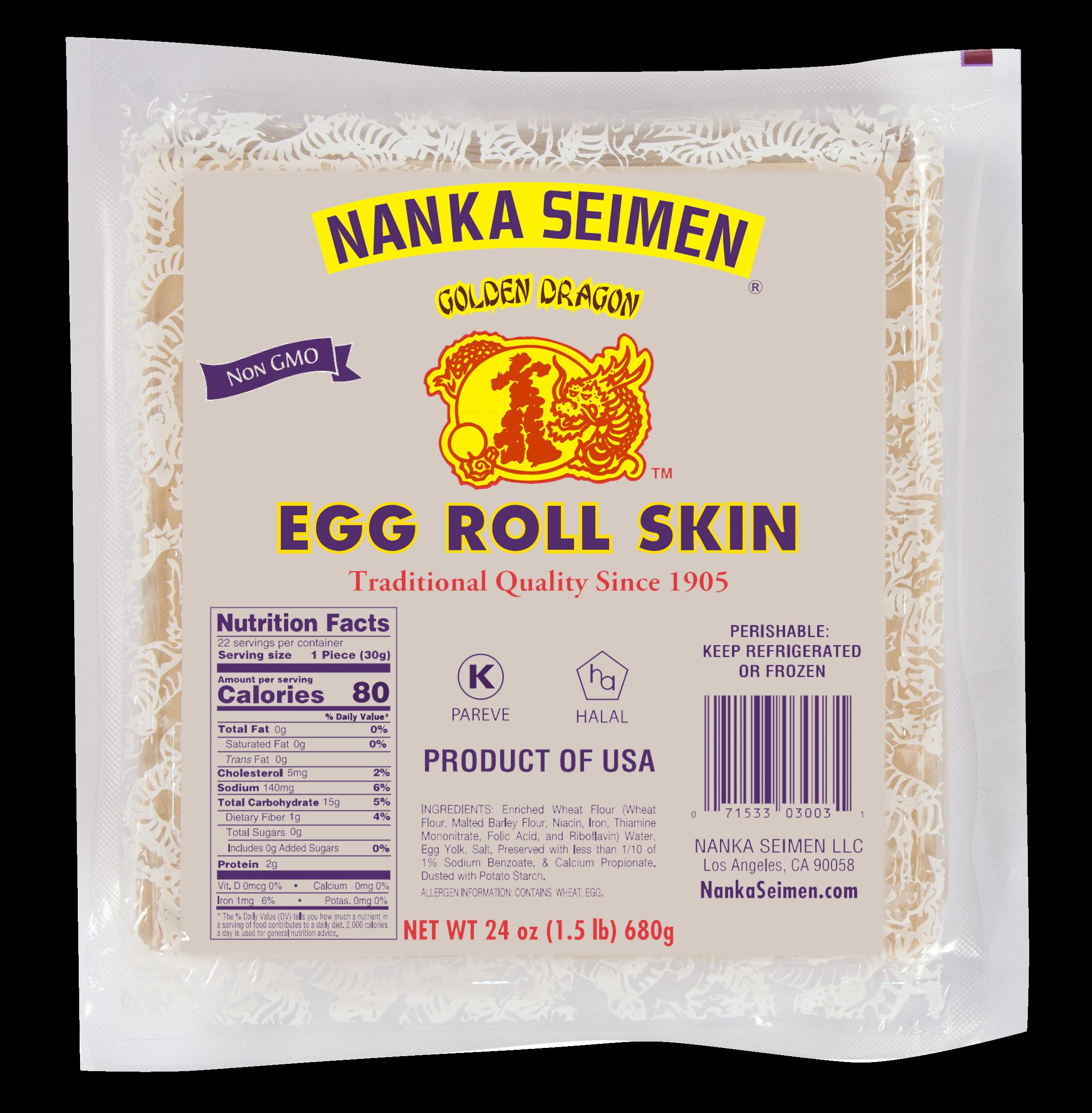 Egg Roll Pack 24oz 050420